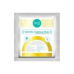 Gold Bio-Cellulose Mask + Collagen & Hyaluronic Acid